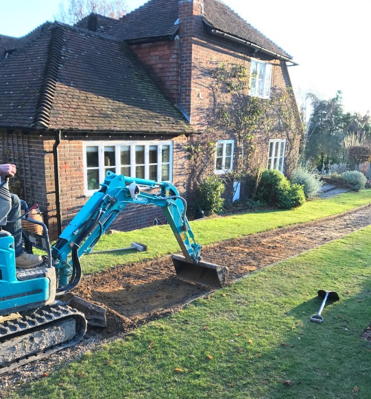 Residential Landscaping Groundworks