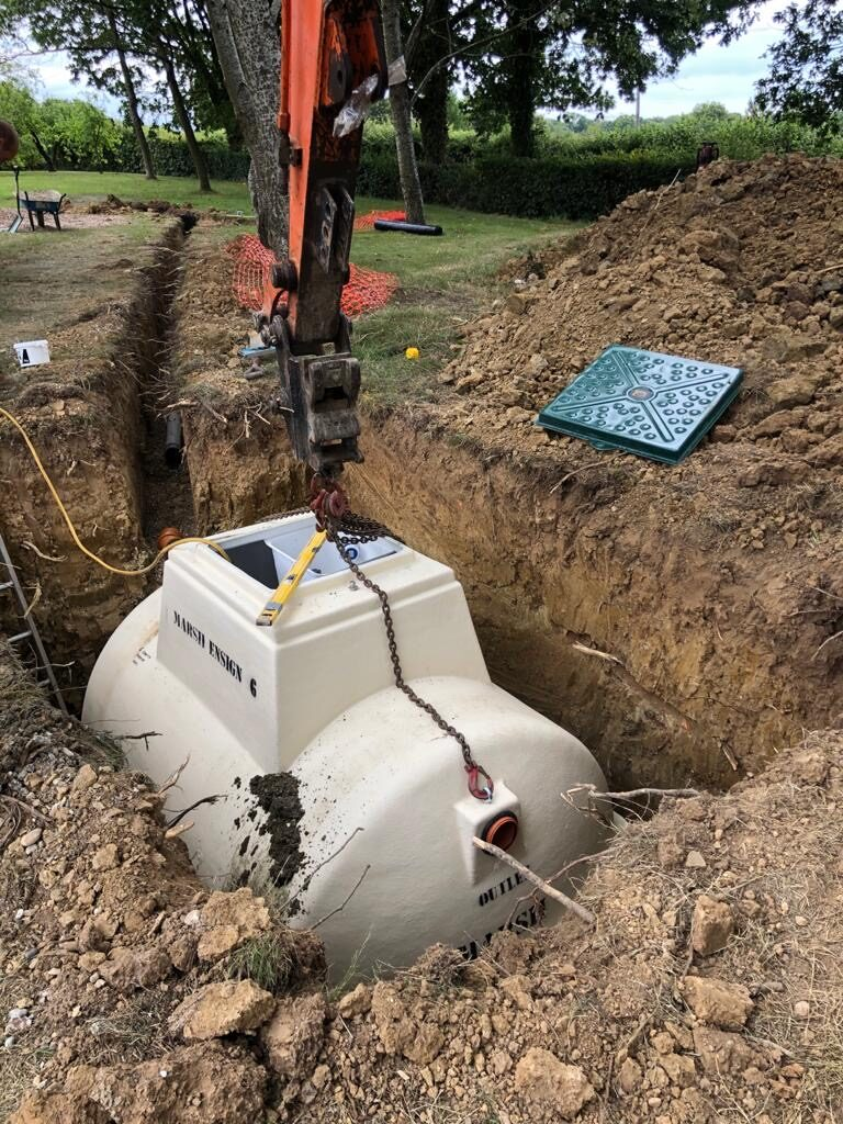 Digester Installation Groundworks